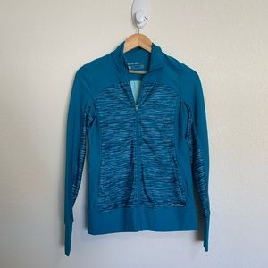 Eddie Bower Blue Motion ZIP Up Jacket Size XS